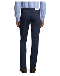 Farah - Blue Farah Elm Twill Slim-fit Chino for Men - Lyst