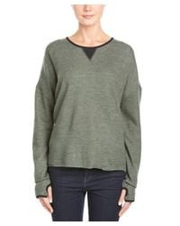 One Teaspoon - Black Dolman Sleeve Sweater - Lyst