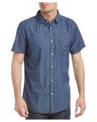 Sovereign Code - Blue Town Woven Shirt for Men - Lyst