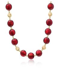 Antica Murrina - Women's Red Other Materials Necklace - Lyst