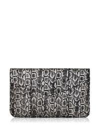 Inge Christopher - Metallic Ragusa Envelope Clutch - Lyst