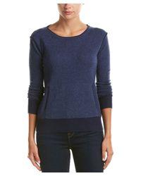 Raffi - Blue Cashmere Sweater - Lyst