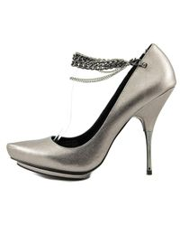 Rock & Republic - Gray Alayna Pointed Toe Synthetic Heels - Lyst
