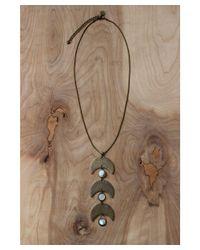 Love Leather - Multicolor Landslide Necklace - Lyst