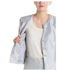 Kasper - Gray Jacket & Skirt Suit - Lyst
