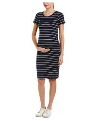 Everly Grey - Black Maternity Camila Shift Dress - Lyst