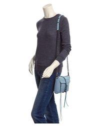 Rebecca Minkoff - Gray Mini Mac Leather Crossbody - Lyst