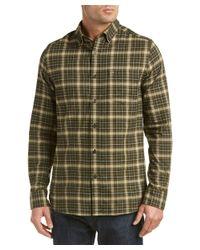 Victorinox - Green Swiss Army Sterner Wool-blend Woven Shirt for Men - Lyst