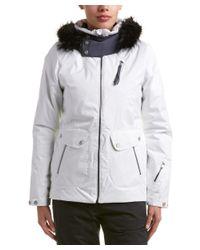 Spyder - White Nuni Jacket - Lyst