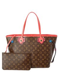 648320f44005 Louis Vuitton. Women s Brown Limited Edition Totem Red Monogram Canvas ...