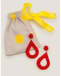 Boucles d'oreilles en perles Boden en coloris Red