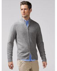Bogner Metallic Cashmere Knitted Jacket Alfred for men