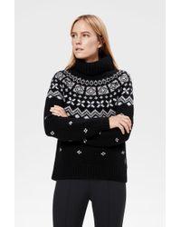 Bogner Black Kaschmir-Pullover Sina