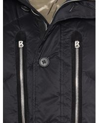 Bogner Black Down Jacket Mirco for men