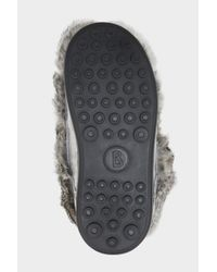 Bogner - Trois Vallées Rabbit Fur Boots In Gray - Lyst