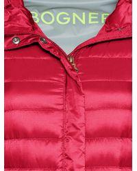 Bogner Red Lightweight Down Jacket Tanja