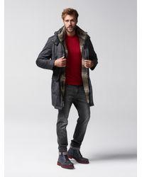 Bogner Multicolor New Wool Parka Bradly for men