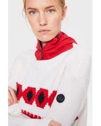Bogner White Kaschmir-Pullover Mahina