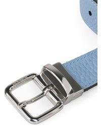 Bogner - Blue Reversible Belt Double 3 for Men - Lyst