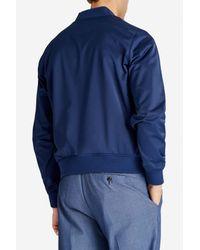 Bonobos Blue The Boulevard Bomber Jacket for men