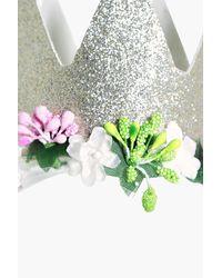 Boohoo Metallic Bonnie Bridal Hen Party Crown Headband