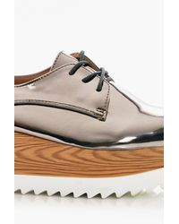 Boohoo Multicolor Olivia Cleated Brogue for men