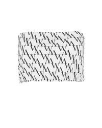 Boohoo - White Plus Diagonal Repeat Print Bandeau - Lyst