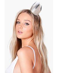 Boohoo Metallic Lexi Bridal Hen Party Crown Headband