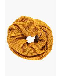 Boohoo Multicolor Lara Fishermans Knit Oversize Snood