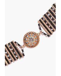 Boohoo | Multicolor Lydia Boutique Decorative Coin Charm Choker | Lyst