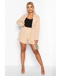 Short Coupe Ajustée Premium Plus - roche - 44, Roche Boohoo en coloris Natural