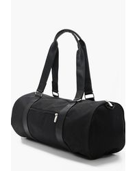 Boohoo - Black Duffle Bag for Men - Lyst