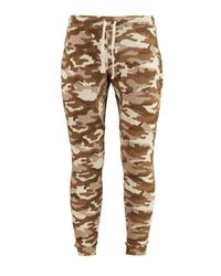Boohoo - Natural Skinny Fit Camo Joggers for Men - Lyst