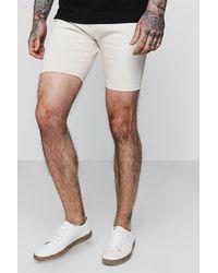 Boohoo Multicolor Super Skinny Fit Denim Shorts for men