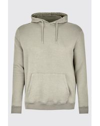 BoohooMAN Multicolor Big & Tall Basic Over The Head Hoodie for men