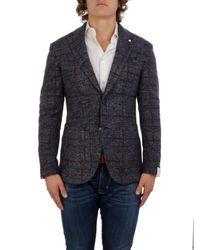 L.b.m. 1911 - Blue Giacca for Men - Lyst