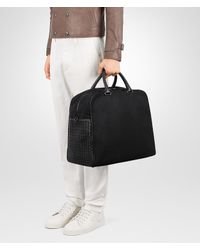 Bottega Veneta - Black Nero Canvas Duffel for Men - Lyst