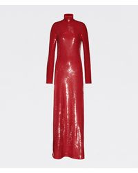 Bottega Veneta ドレス Red
