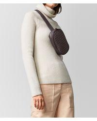 Bottega Veneta - Multicolor Belt Bag In Intrecciato Nappa - Lyst