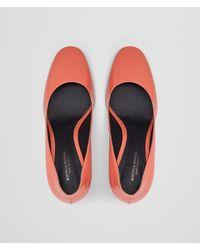 Bottega Veneta - Multicolor Hibiscus Patent Calf Isabella Pump - Lyst