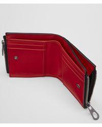 Bottega Veneta - China Red Intrecciato Calf Wallet for Men - Lyst