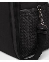Bottega Veneta - Black Nero Canvas Duffel for Men - Lyst