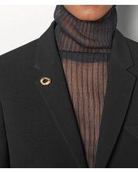 BROCHE Bottega Veneta pour homme en coloris Metallic