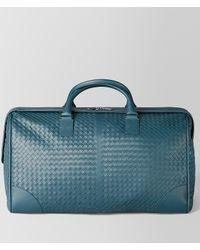 Bottega Veneta Blue Large Duffel Bag for men