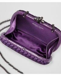 Bottega Veneta - Purple Monalisa Intrecciato Impero Chain Knot - Lyst