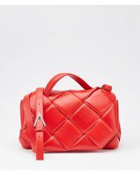 Bottega Veneta Top Handle Bag Red