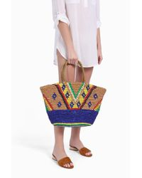 Sensi Studio | Multicolor Oval Base Maxi Tote | Lyst