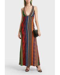 Missoni Multicolor Colour Block Dress