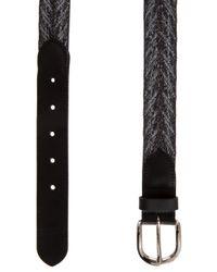 Étoile Isabel Marant Black Uma Carpet Belt