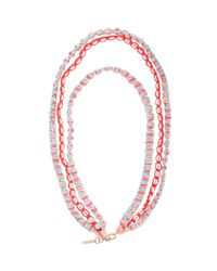 Missoni - Pink Beaded Necklace - Lyst
